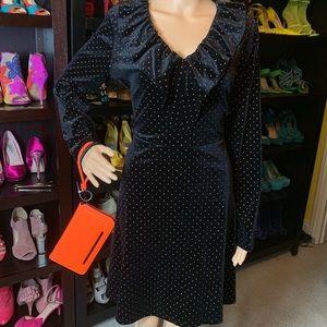 New Michael Kors velvet Studded Dress